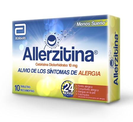 Allerzitina tabletas