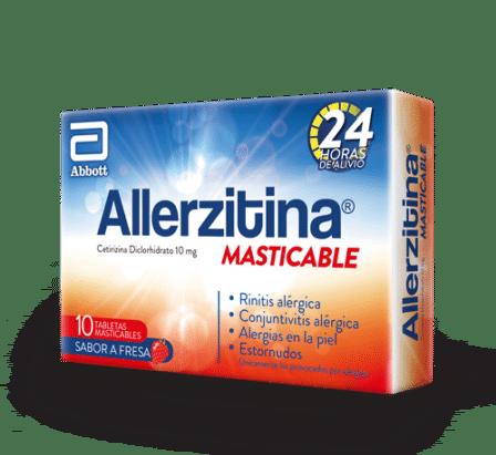 Allerzitina masticable